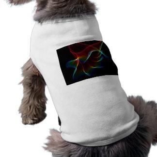 Imagine, Through the Abstract Rainbow Veil Pet Shirt