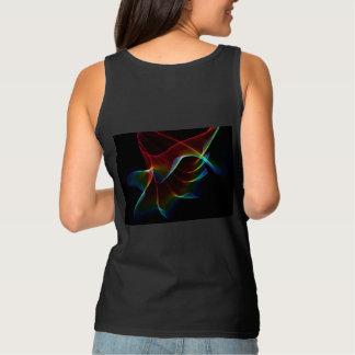 Imagine, Through the Abstract Rainbow Veil Tank Top