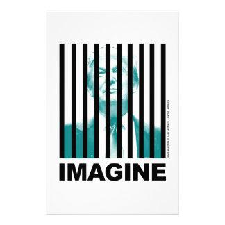 Imagine Trump Behind Bars Stationery