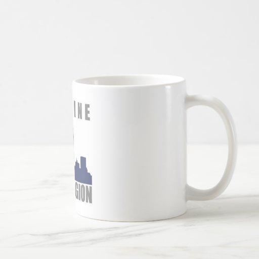 Imagine Twin Towers sillouette Coffee Mug