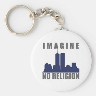 Imagine Twin Towers sillouette Keychain