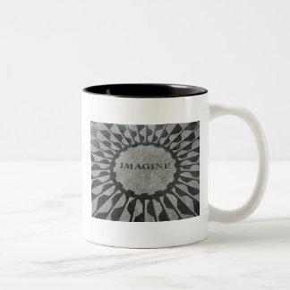 Imagine Two-Tone Coffee Mug