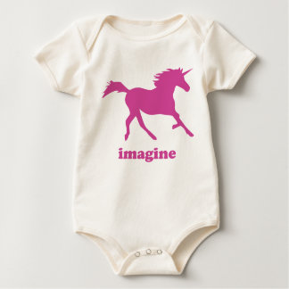 Imagine Unicorns! Baby Bodysuit
