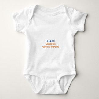 imagine! Unlock the  world of creativity Baby Bodysuit