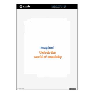 imagine! Unlock the  world of creativity Skin For The iPad 2