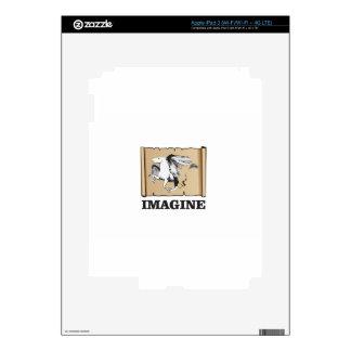 imagine white horse skins for iPad 3