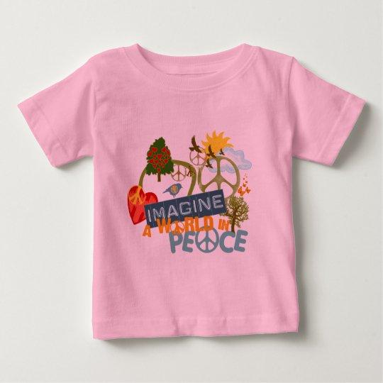 Imagine World Peace Baby T-Shirt