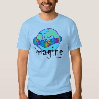 imagine world peace t-shirt