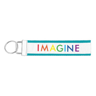 Imagine Wrist Keychain