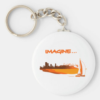 Imagine your life - Imagines your life Keychain