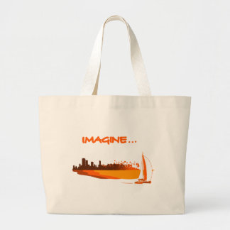 Imagine your life - Imagines your life Large Tote Bag