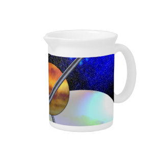 Imagined Worlds Beverage Pitcher