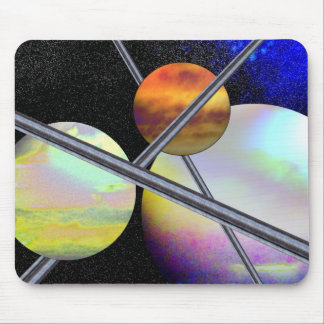 Imagined Worlds Mouse Pad