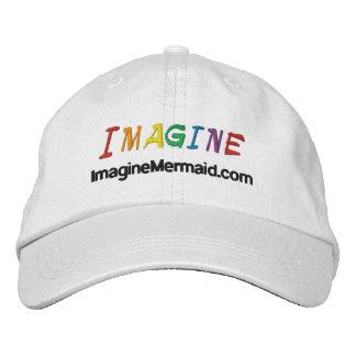 ImagineMermaid.com Imagine Promotional Embroidered Baseball Cap