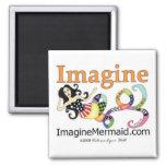 ImagineMermaid.com promocional Imanes