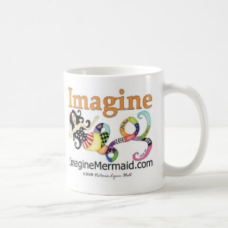 ImagineMermaid com promocional Tazas De Café
