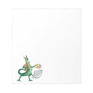 """""""Imagínese"""" al pintor del dragón Blocs"""