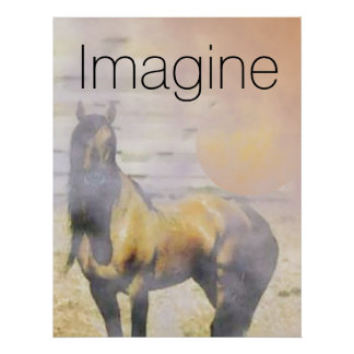 Imagínese el caballo impresiones
