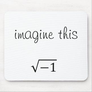 Imagínese este número alfombrillas de raton