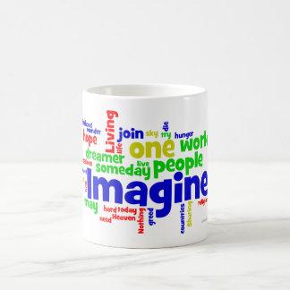 Imagínese la nube tazas de café