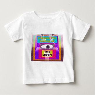 Imagínese la sensación de 2 amantes t-shirts