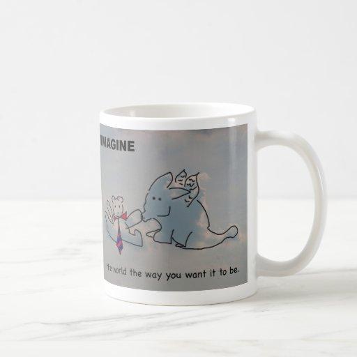 Imagínese la taza