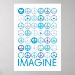 IMAGÍNESE - los signos de la paz internacionales a Impresiones