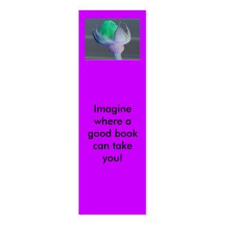 ¡Imagínese Mini señales Tarjetas De Negocios