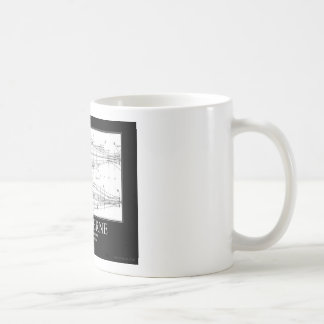 Imagínese (nautilus) taza básica blanca