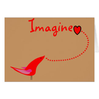 """Imagínese""---Regalos de Juan Tarjetas"