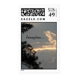 """Imagínese…"" sellos de la foto"