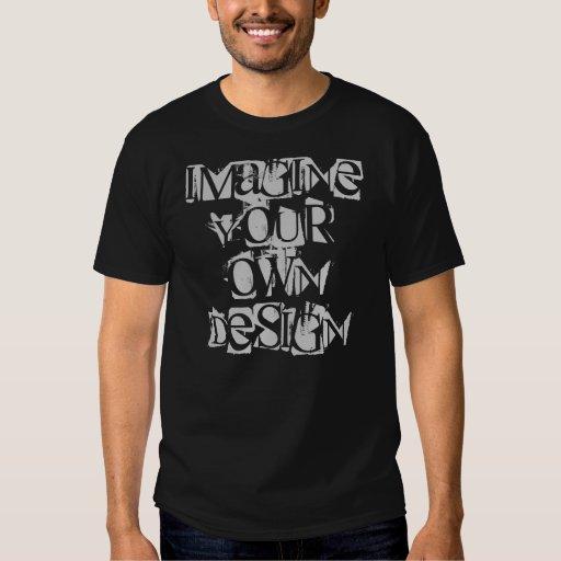 Imagínese su propia camisa del diseño