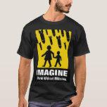 imagínese un mundo sin la camiseta del militarismo