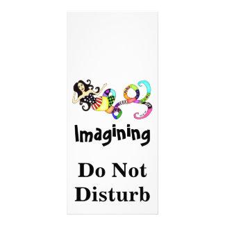 Imagining Do Not Disturb Mermaid Muse Rack Card