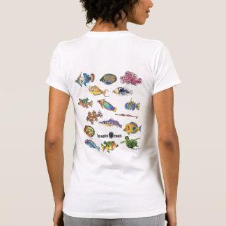 Imaginocean Two Sided Cartoon Fish T Shirts