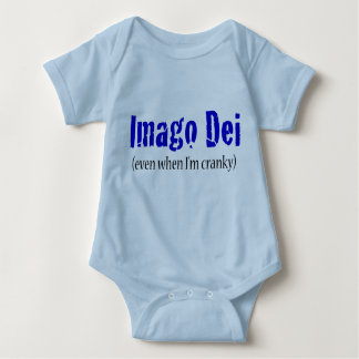 Imago Dei (even when I'm cranky) Baby Bodysuit