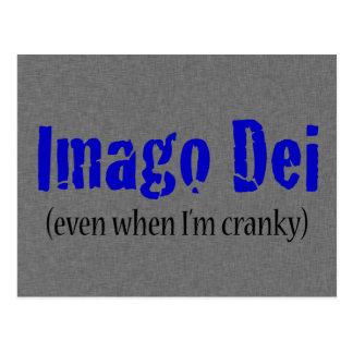 Imago Dei (incluso cuando estoy irritable) o Postal