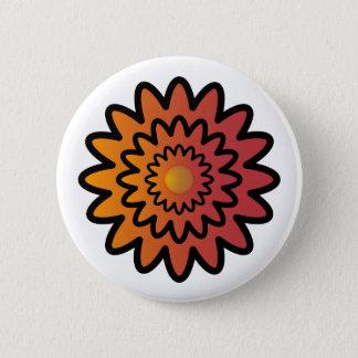 Imagology's Flower Pinback Button