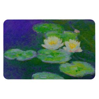 Imán 1897 de los lirios de agua de Monet