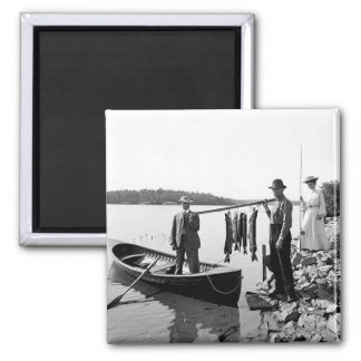 Imán 1903 de Adirondack Mts.Fishing