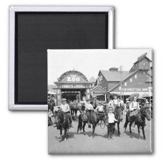 Imán 1904 de Coney Island NY