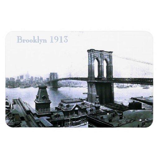 Imán 1913 de Brooklyn NYC del vintage