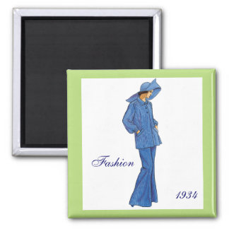 Imán 1934 de la moda