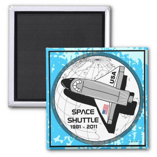 Imán 1 del transbordador espacial