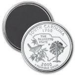 Imán 2000 del cuarto del estado de Carolina del Su