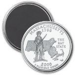 Imán 2000 del cuarto del estado de Massachusetts