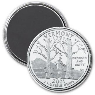 Imán 2001 del cuarto del estado de Vermont