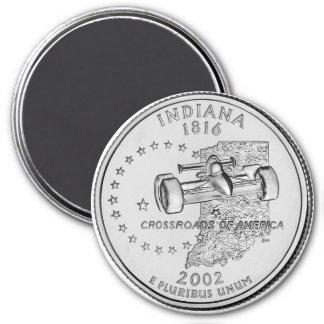 Imán 2002 del cuarto del estado de Indiana