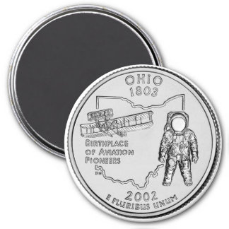 Imán 2002 del cuarto del estado de Ohio