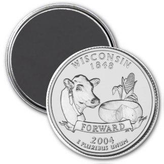 Imán 2004 del cuarto del estado de Wisconsin